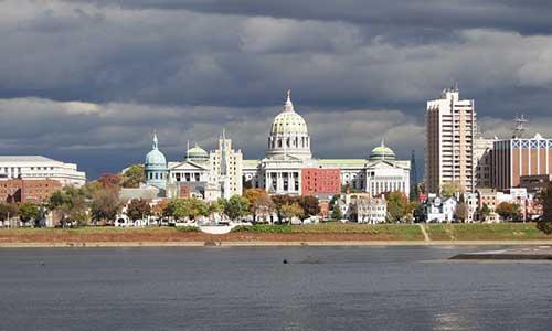 Harrisburg State Capitol Building